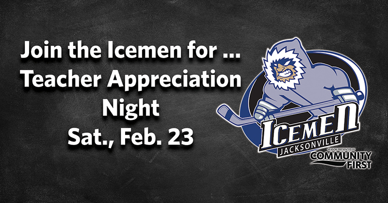 Teacher Appreciation Night with the Icemen