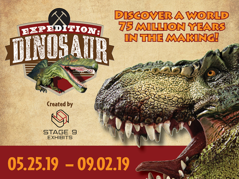 MOSH | Traveling Exhibits Expedition: Dinosaur