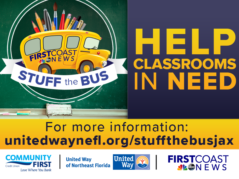 Stuff the Bus | Help Classrooms in Need