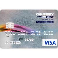Visa® Platinum Rewards Card